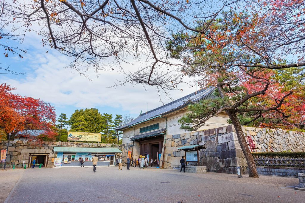 Nagoya Castle entrance