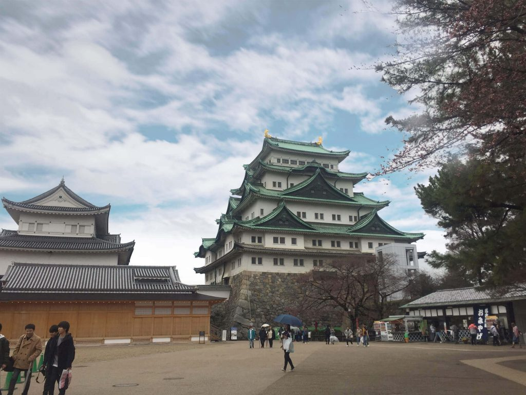 Inside Nagoya Castle