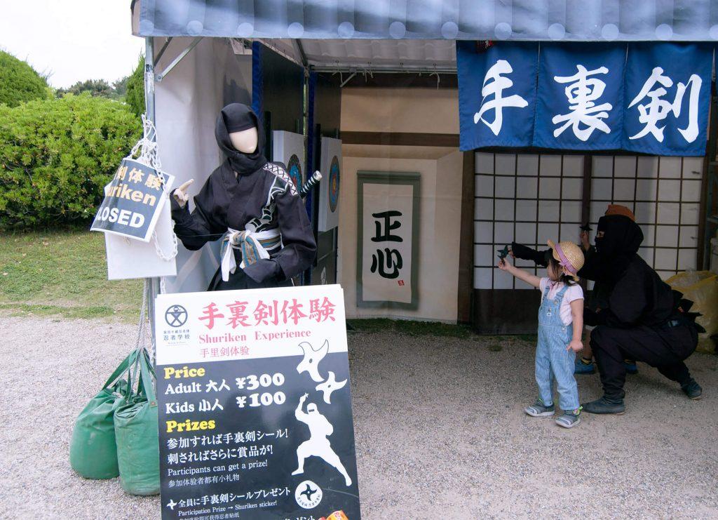 Nagoya Castle Ninja
