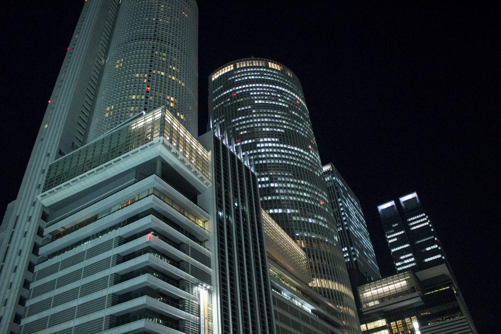 Nagoya Station - Nightview