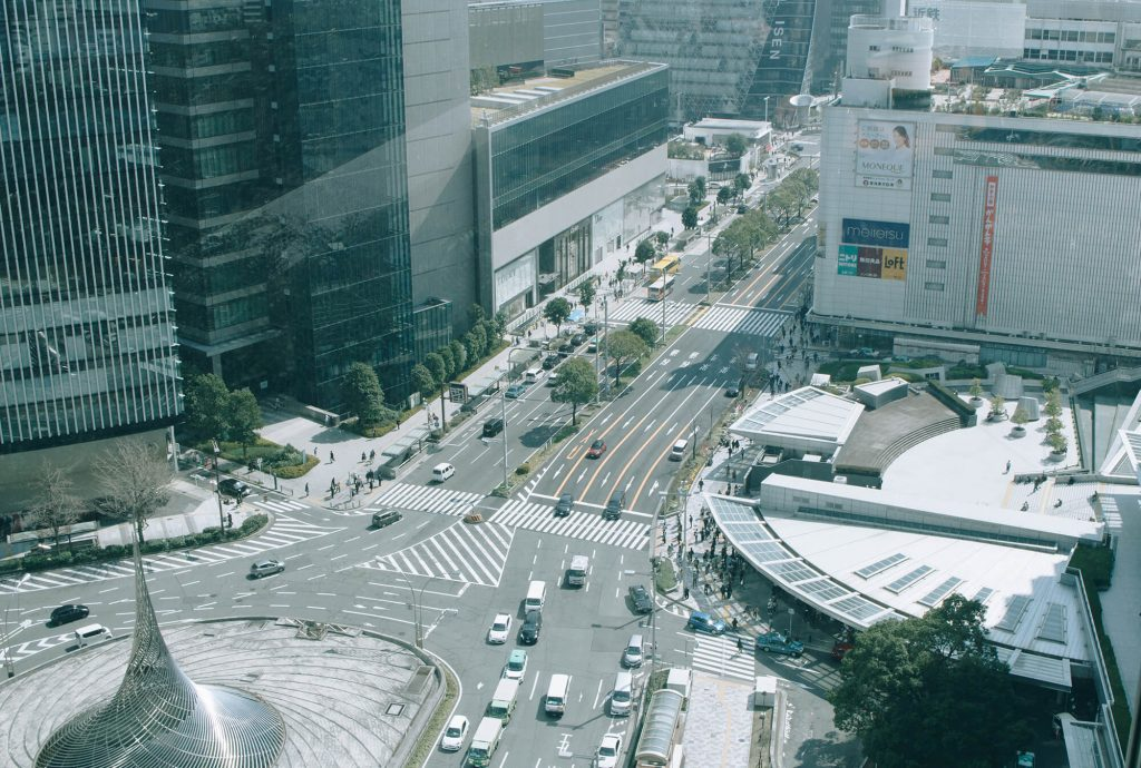 View from Nagoya Station