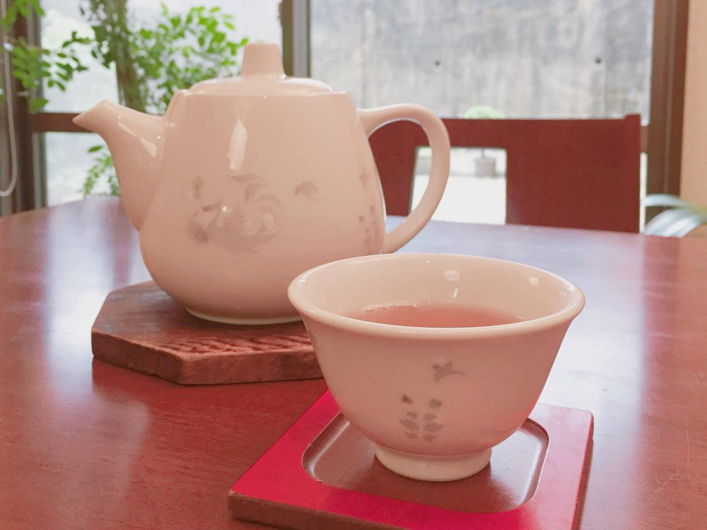 Shinshin Tei - Tea