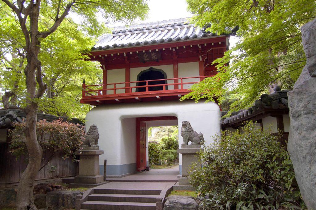 Toganji Temple Chinese door