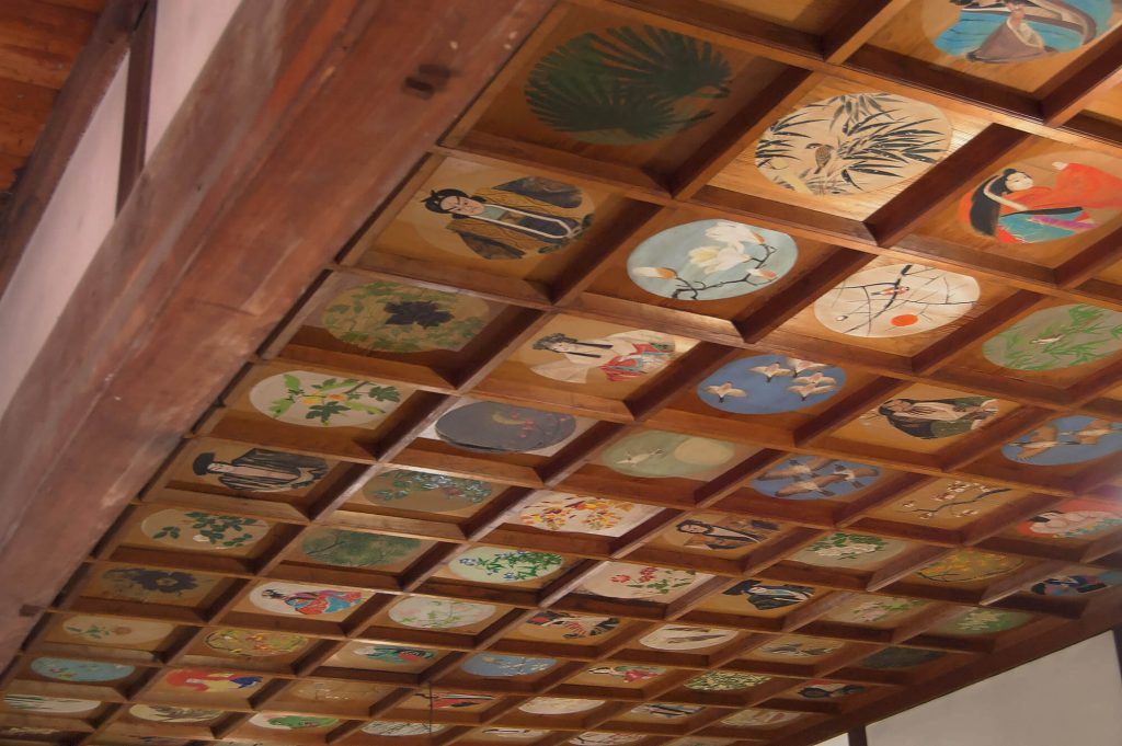 Toganji Temple Ceiling