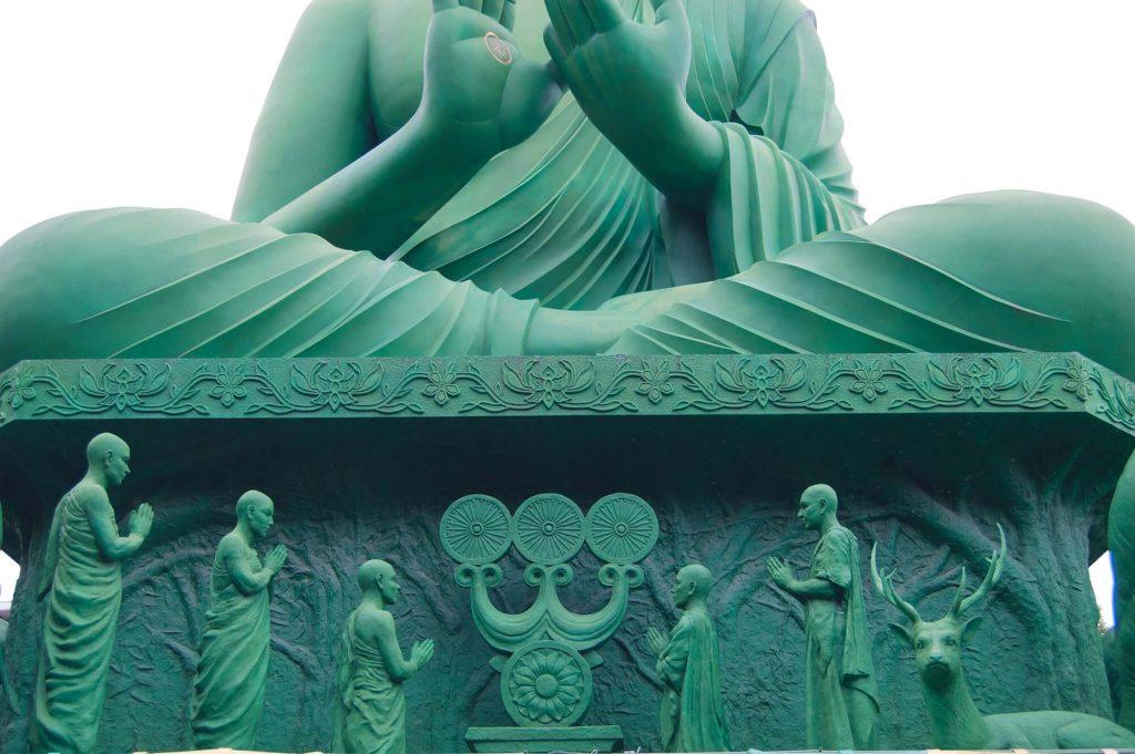 Toganji Temple Green Budha