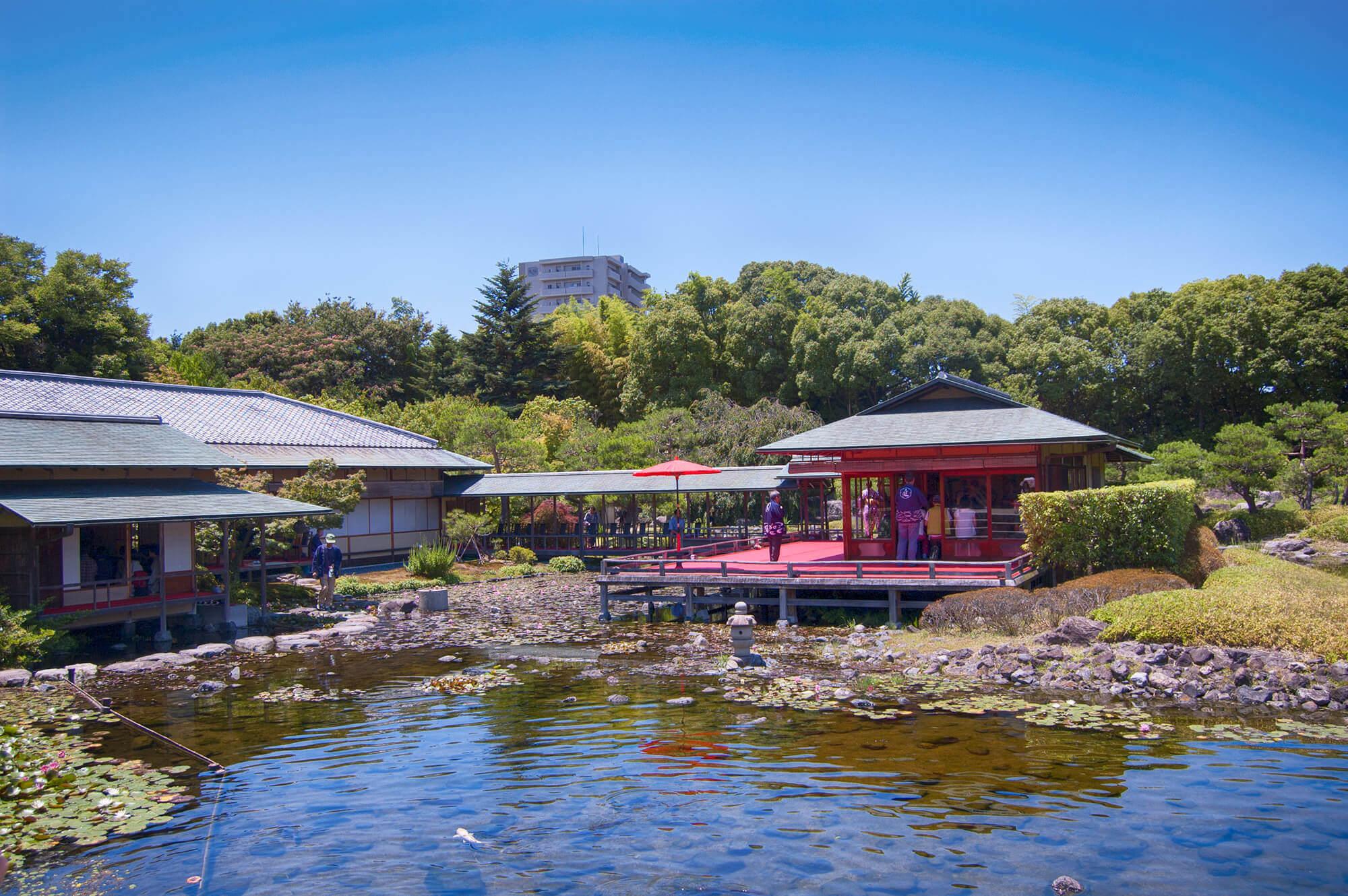 Seiu-tei in Shirotori Garden