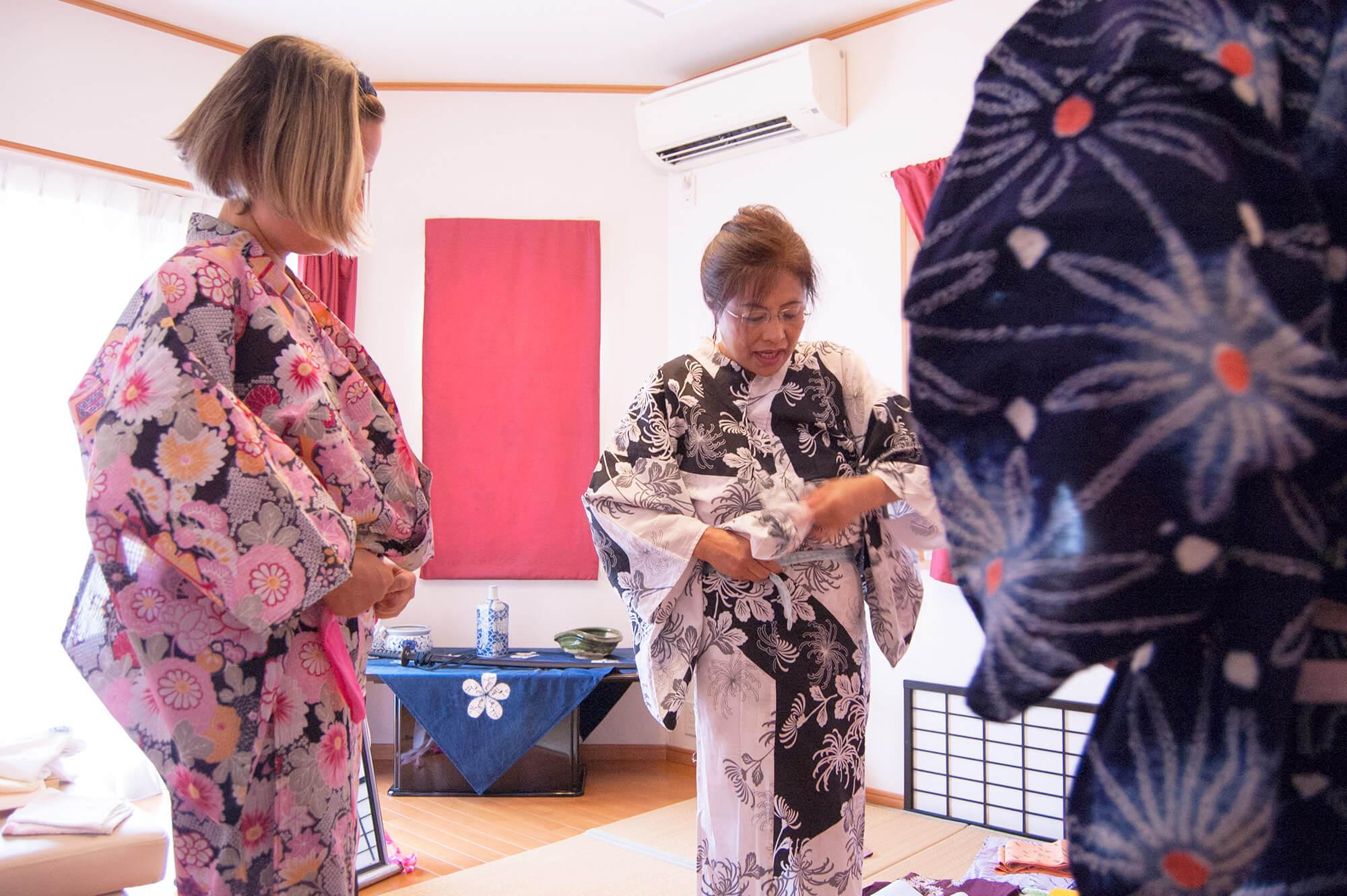 Aki's Home Visit