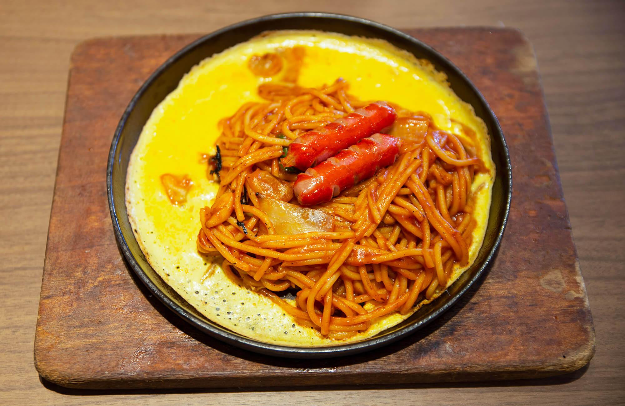 Teppan Spaghetti