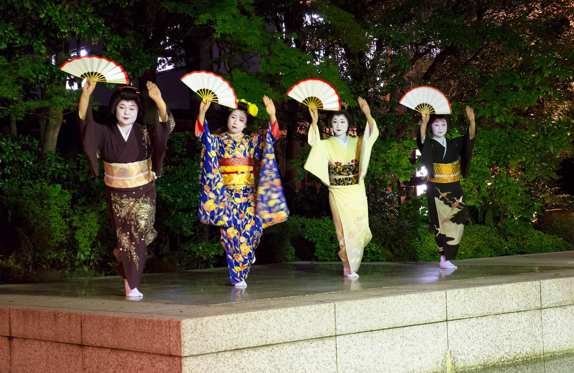 Kawabun Culture Night - Geisha and Maiko performance