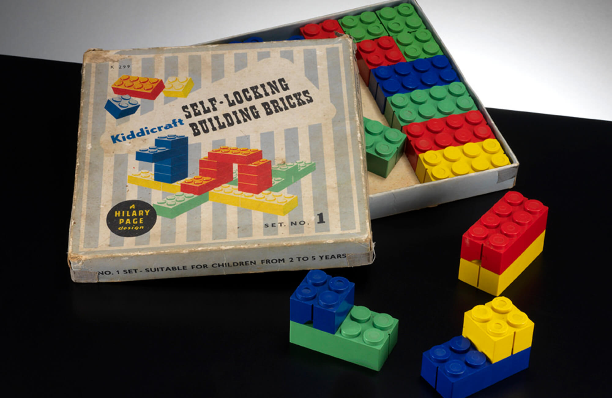 The Self-Locking Building Bricks Kiddicraft