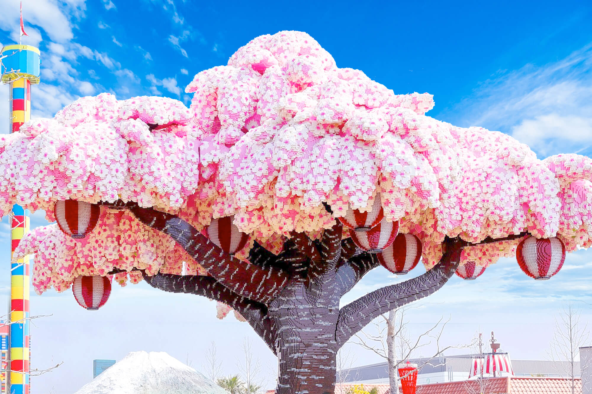 LEGOLAND® Japan Resort Nagoya - Sakura tree