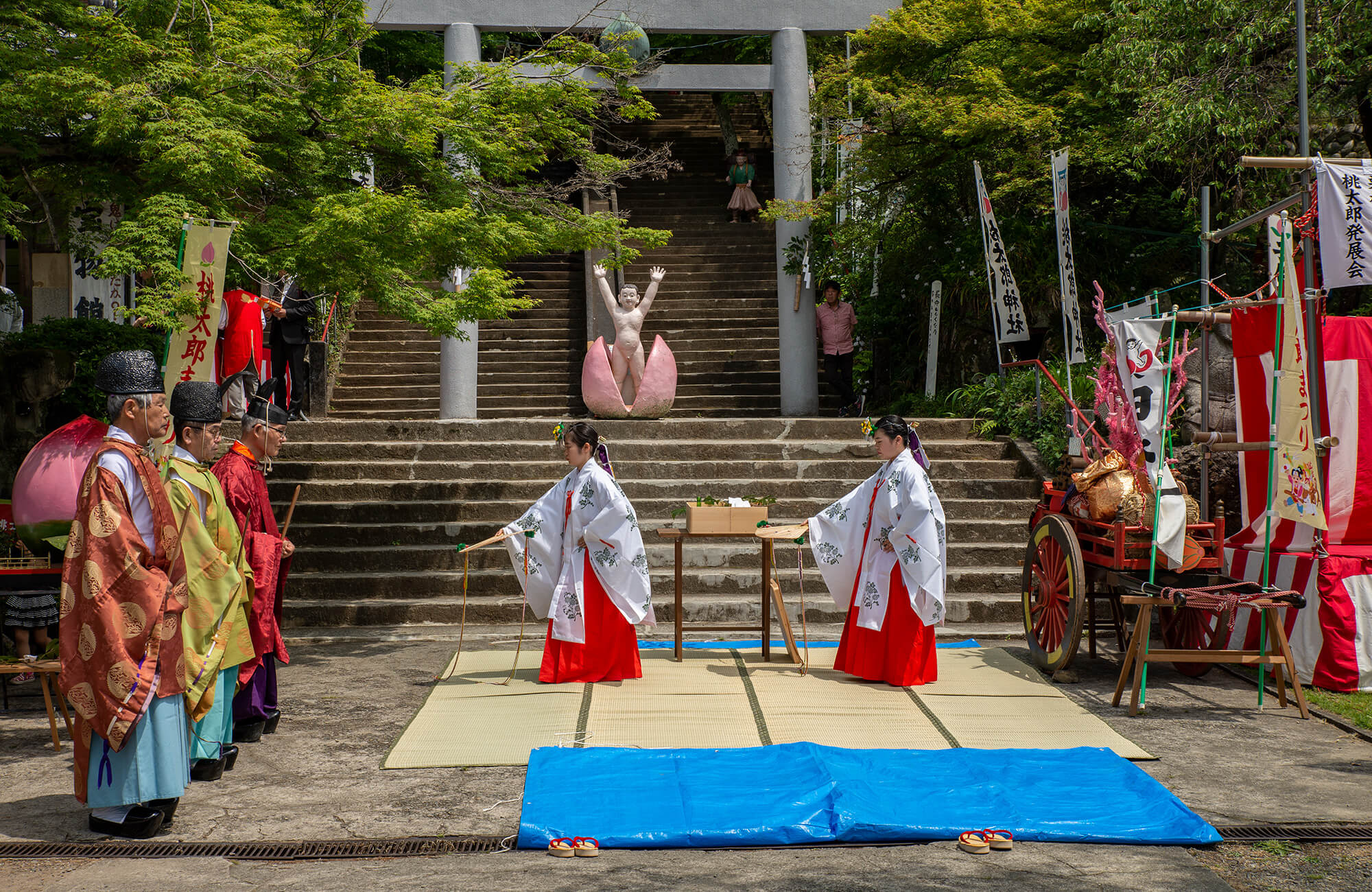 Momotaro Jinja Festival