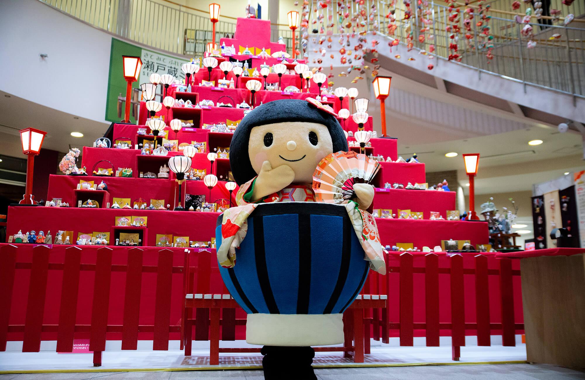 Hina Doll Festival in Seto